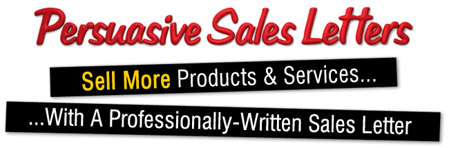 Copywriting Services - Persuasive Sales Letters .com